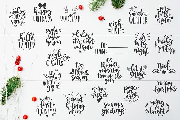 Christmas Quotes Svg.Christmas Svg Quotes And Overlays Creative Daddy