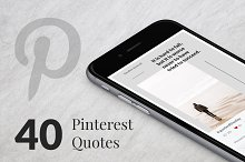 40 Pinterest Quotes by  in Pinterest
