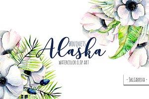 """""""Alaska"""". Bouquets."""