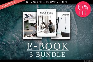3X Ebook Bundle Templates  | 67% Off