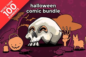 Halloween comic bundle