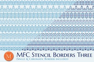 MFC Stencil Borders Three