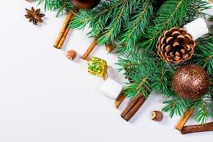 Christmas decorative background
