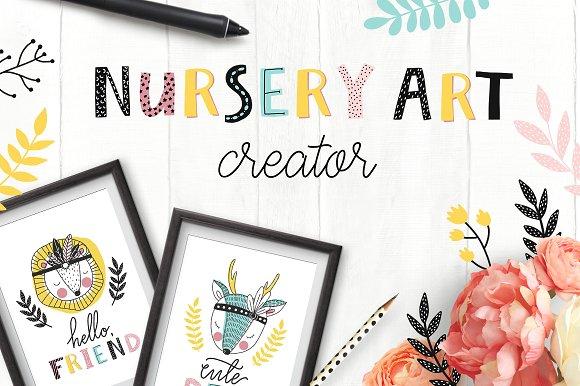 Nursery Art Creator