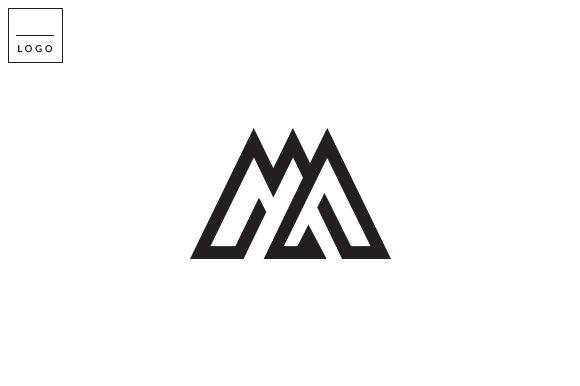 M Logo Letter M Logo ~ Logo T...