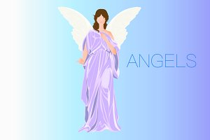 Angel in Png for handcraft
