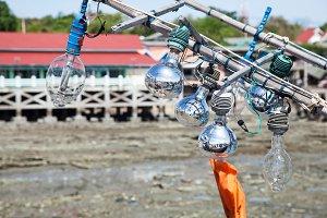 Light fishing equipment.