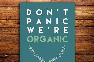 Organic Print Wall Art Poster