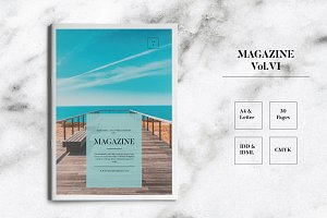 Magazine Template Indesign Vol.VI