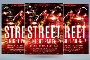 Street Night Party
