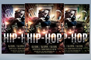 Hip Hop Flyer
