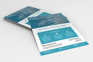 Web Designer Flyer Template -V658