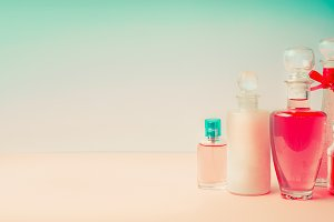 Cosmetic products banner