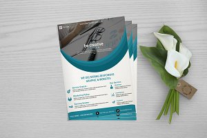 Web Designer Flyer Template -V659
