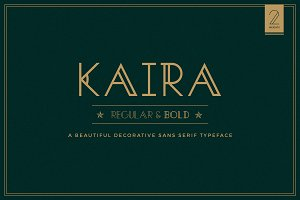 Kaira- Regular & Bold