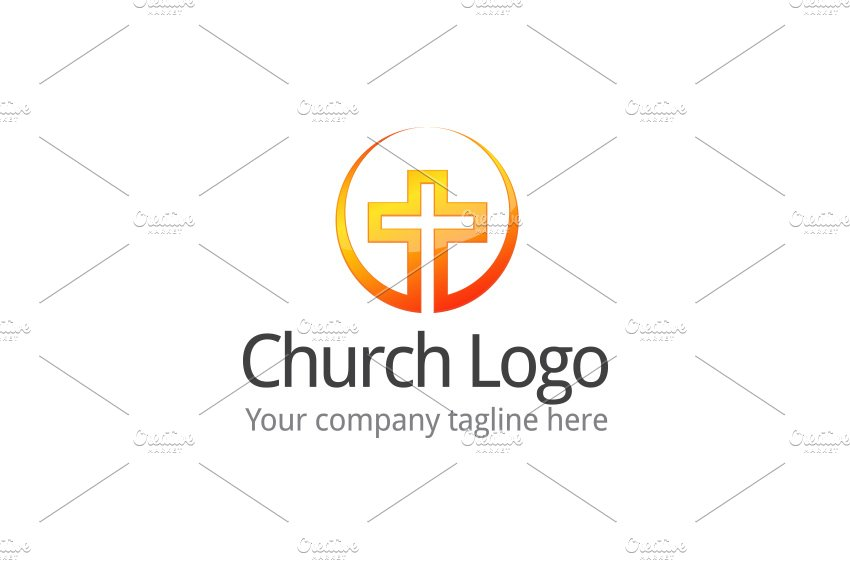 Church Logo ~ Logo Templates ~ Creative Market