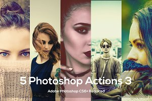 5 Photoshop Actions 3
