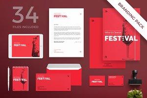 Branding Pack | Wine Festival