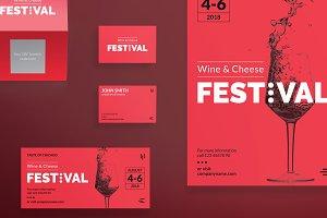 Print Pack | Wine Festival