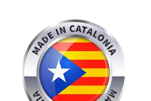 Made in Catalonia badge icon