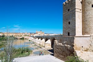 Roman Bridge over Guadalquivir River