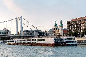 Elisabeth Bridge in Budapest