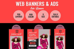 Special Offer Sales Banner Design
