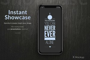 X Phone Mockup