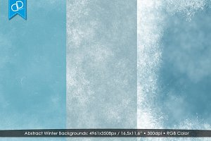 Abstract Winter Backgrounds '17