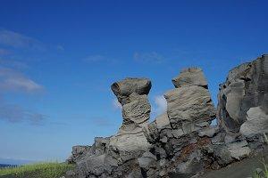 Rock landscape, Reykjanes