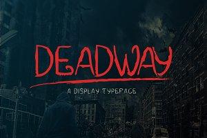 Deadway Typeface
