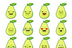 Set Emotions Avocado.