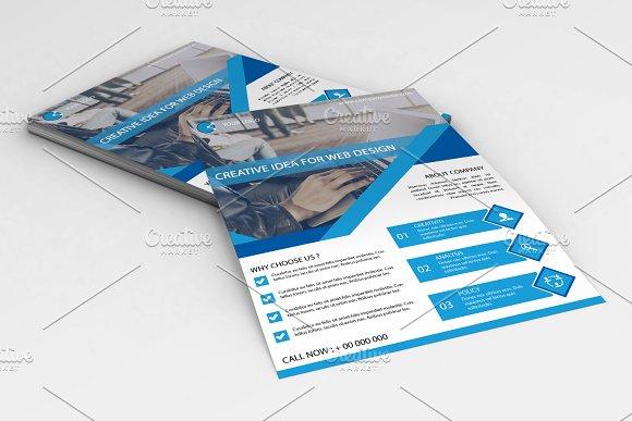 Flyer For Web Designer V661