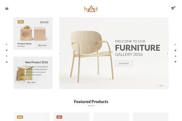 Hurst - Furniture WooCommerce  Theme
