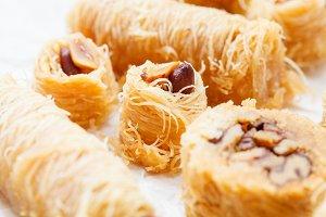 Arabic dessert baklava