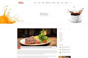 Resta - Restaurant WordPress Theme