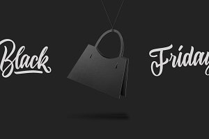 sale concept handmae cardboard style handbag