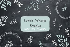 Laurels, Wreaths and Branches