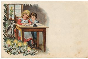 christmas greetings, letter