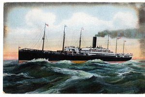 vtg greetings, steam liner