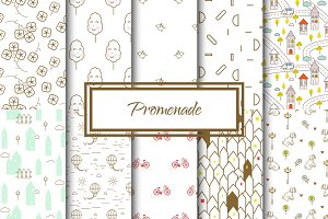 Promenade Seamless Patterns