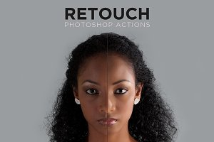 Retouch Photoshop Actions