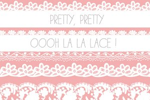 Lace Borders - PNG Images