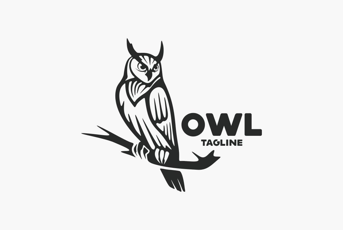 Owl Logo ~ Logo Templates ~ Creative Market