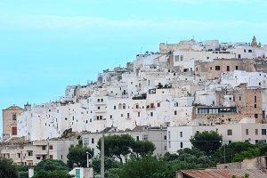 Ostuni town in Puglia, Italy