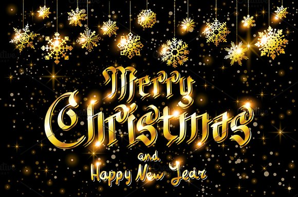 Merry Christmas. and Happy New Year