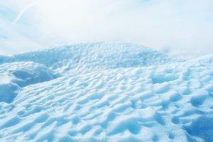 Glacier close up ice