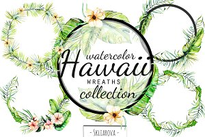 """Hawaii"". Wreaths."