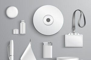White set of stationary elements