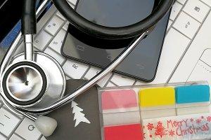 Xmas medical card